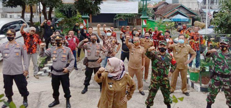 Jelang Pilkades Serentak Koramil 1004 Gelar Silaturahmi Bersama Forkopimcam Tanjungsari Pamulihan dan Sukasari