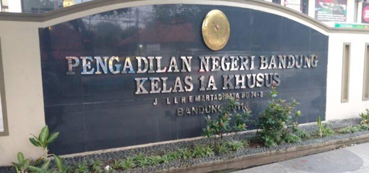 PN Bandung Jalan LL. RE. Martadinata
