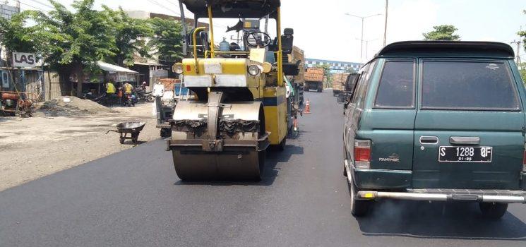 Pekerjaan Long Segmen Jalan Nasional Jatim Bali Se