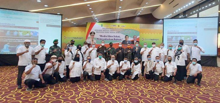 Resmi Dilantik SMSI Riau Siap Bermitra Dengan Pemerintah 1