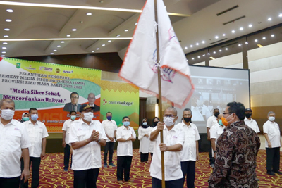 Resmi Dilantik SMSI Riau Siap Bermitra Dengan Pemerintah 2