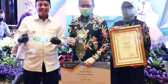 SAKIP Desa Antarkan Kabupaten Sumedang Jadi Top 10 dalam KIJB 2020