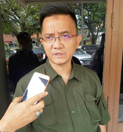 Salah seorang anggota Tim Penasihat Hukum Dadang Suganda Anwar Djamaluddin SH MH. FotoDRY