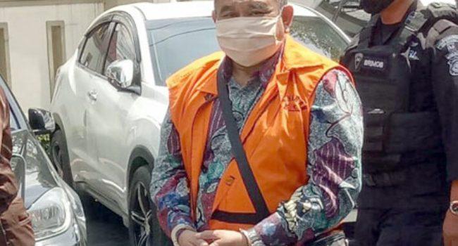 Terdakwa dugaan korupsi dan pencucian uang pengadaan lahan RTH Kota Bandung Dadang Suganda
