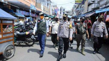 Achmad Fahmi Pantau Penerapan AKB Disejumlah Pusat Keramaian Kota Sukabumi