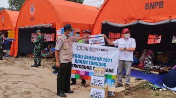 Amatil Indonesia Salurkan Ribuan Liter Air Siap M1