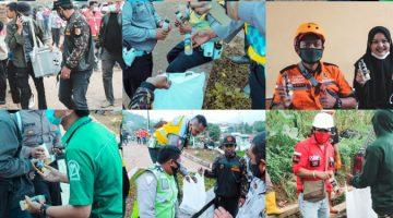 GP Ansor Sumedang Bagikan Minuman Bernutrisi Kepada Petugas Pengevakuasi Korban Longsor Desa Cihanjuang 2