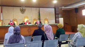 Jaksa KPK menghadirkan delapan orang saksi pada lanjutan sidang korupsi RTH di PN Tipikor Bandung Jalan LL RE Martadinata Selasa 26012021. Foto DRY