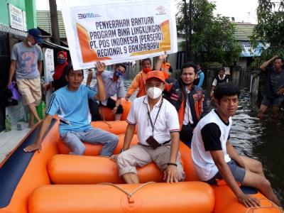 POS INDONESIA Salurkan Bantuan untuk Korban Benca