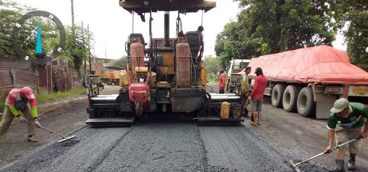 Pasca Terdampak Banjir Kerusakan Jalan Nasional di Tuban Diperbaiki 2