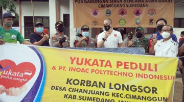 Pemkab Sumedang Terima Bantuan 100 kasur tidur dari Yayasan Yukata Peduli Bangsa