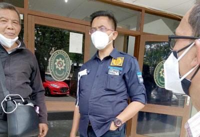 Penasihat Hukum Dadang Suganda Anwar Djamaludin SH MH di PN Tipikor Bandung Selasa 12012021. FotoDRY