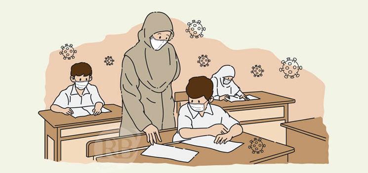 Sekolah Akan Ditutup Jika Terdapat Warga Sekolah Terkonfirmasi Positif Covid 19
