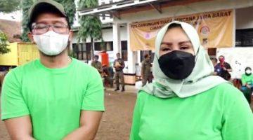 Skin Solution Foundation Bantu Warga Terdampak di Posko Pengungsian Perumahan SBG Desa Cihanjuang