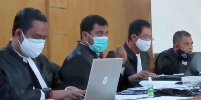 Tim Jaksa KPK di PN Tipikor Jalan LL RE Martadinata Kamis 21012020. FOTODRY