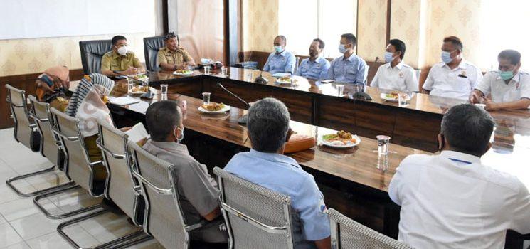 Wakil Bupati Minta KONI Fokus pada Penyelenggaraan BK Porda 2022