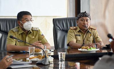 Wakil Bupati Minta KONI Fokus pada Penyelenggaraan BK Porda Tahun 2022