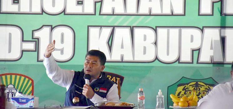 Wakil Bupati Sumedang Minta Seluruh Kepala SKPD dan Camat Selalu Siaga Antisipasi Bencana Banjir dan Longsor