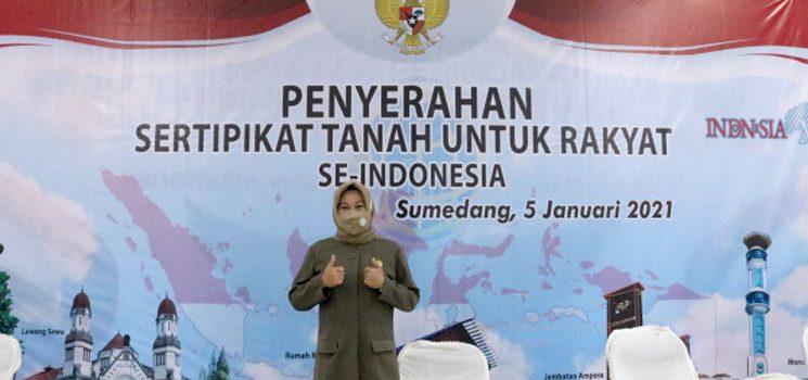 Wakil Ketua DPRD Dorong Percepatan Sertifikasi PTSL di Sumedang