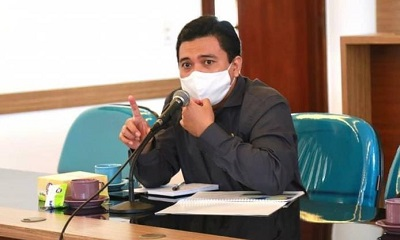 Wakil Ketua Pansus IX DPRD Provinsi Jawa Barat Yunandar Eka Perwira