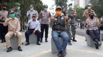 Walikota Resmikan Kawasan Pedestrian Jl. Ir. H. Djuanda Dago Kota Sukabumi