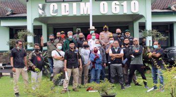 Dandim 0610 Bersilaturahmi Dengan Wartawan Liputan Kabupaten Sumedang