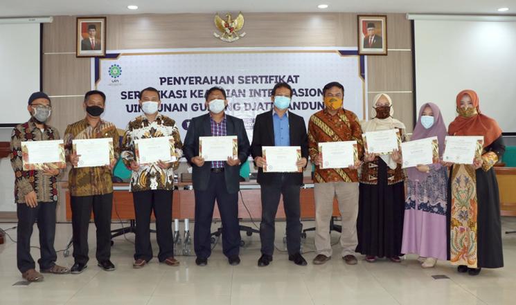 Sembilan Dosen UIN SGD Bandung Tersertifikasi Keahlian Internasional 1