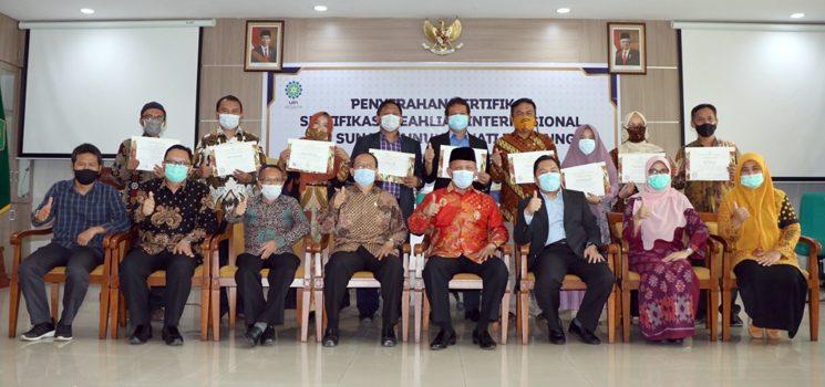 Sembilan Dosen UIN SGD Bandung Tersertifikasi Keahlian Internasional 2
