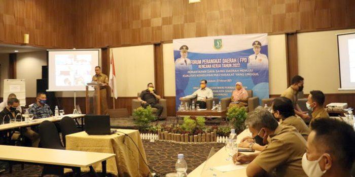 Walikota Sukabumi FPD Perkuat Jalinan Kerjasama Perangkat Daerah Dunia Usaha dan Masyarakat