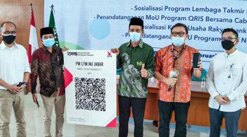 bank bjb Gandeng Lembaga Takmir Masjid NU Terapkan Sedekah Digital