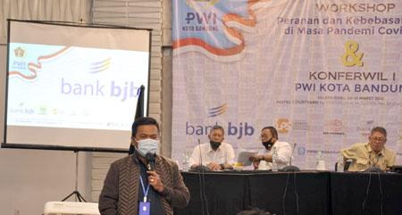 Aklamasi Andhy Pimpin PWI Kota Bandung Periode 2021 2024 2