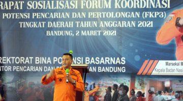 Digelar Basarnas 55 Peserta Ikuti Rapat Sosialisasi FKP3