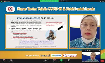 Entrasol Kupas Tuntas Vaksin Covid 19 dan Nutrisi untuk Lansia 2