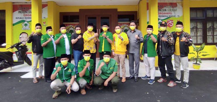 GP Ansor Sumedang Siap Bekerjasama dengan DPD Partai Golkar dalam Pengkaderan Dibidang Politik
