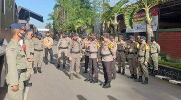 Kapolres Sumedang Hadiri Penyambutan Sat Brimob Polda Jabar dari BKO Polda Papua 2