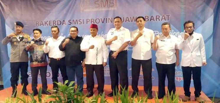 Rakerda SMSI Jabar Ke 4 Hardiyansyah 143 Perusahaan Media Siber Sudah Tergabung di Jawa Barat