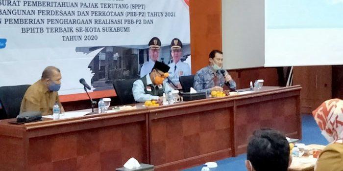 Walikota Sukabumi Berharap Perolehan PBB P2 Terus Meningkat