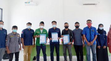 Wujudkan Kesadaran Hukum FPKT Cimanggung ber MOU Dengan LBH GP Ansor Sumedang