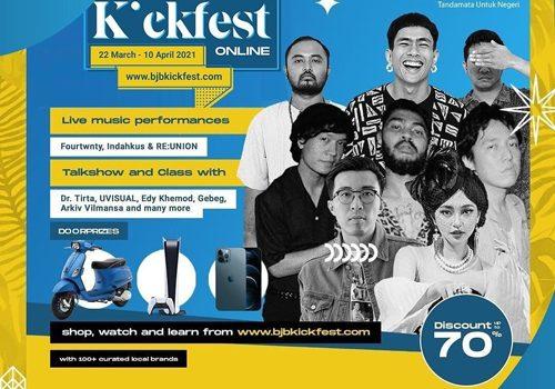 bjb DigiCash KickFest Hadirkan 250 Brand hingga Live Music Secara Daring