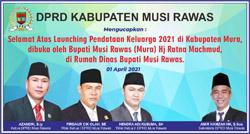 15 DPRD MUSI RAWAS Mengucapkan Selamat atas Pendataan Keluarga 2021