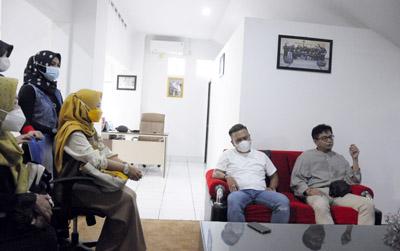 Dany Java Jive Meriahkan Bagi bagi Takjil Bersama PWI dan IKWI Kota Bandung 1