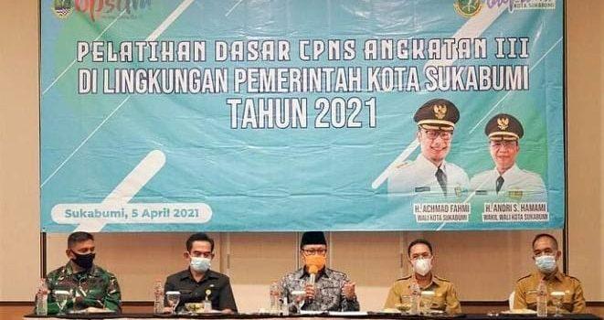 Dibuka Walikota Sukabumi 39 Peserta Ikuti Pelatihan Dasar CPNS