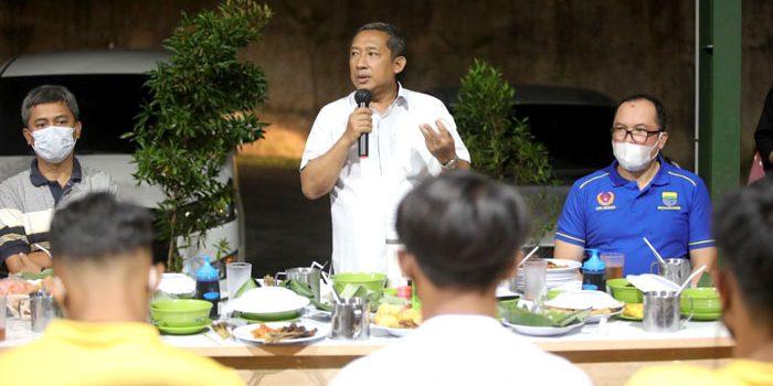 Kang Yana Berharap Tim Sepak Bola Raih Emas Pada Porda 2022