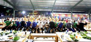Kang Yana danTim Sepak Bola Raih Emas Pada Porda 2022