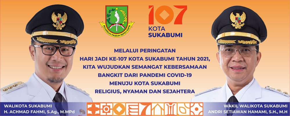 PEMKOT SUKABUMI Peringati HUT Ke 107 Kota Sukabumi