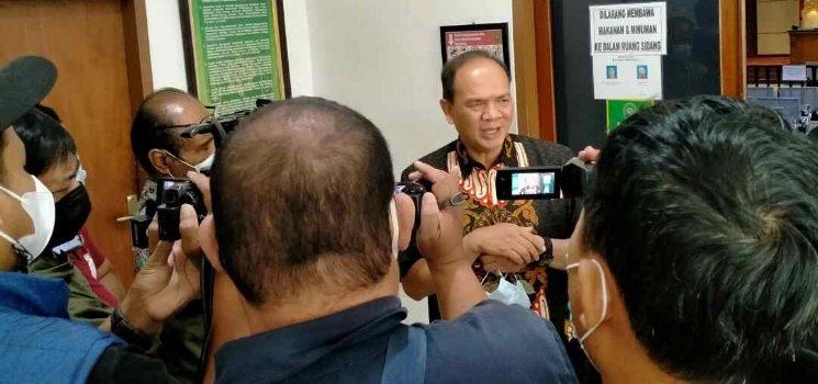 Sebut Ada Oknum di KPK Dadang Suganda Merasa Korb