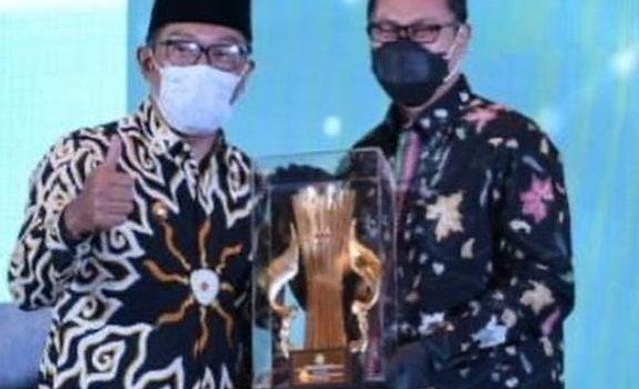 Sukabumi Raih Juara Terbaik II Dokumen Perencanan