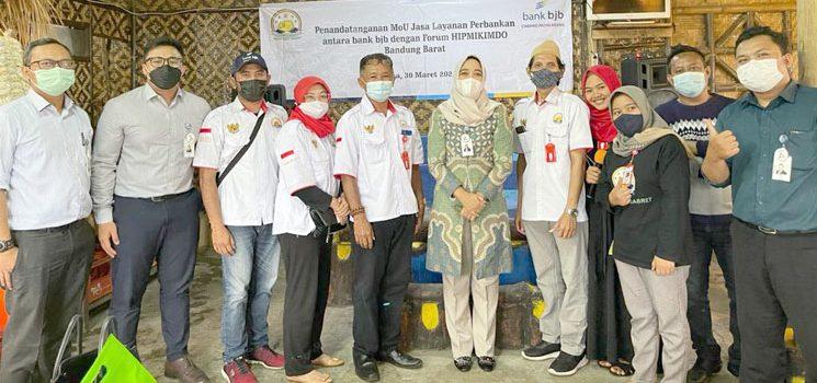 Tingkatkan Inklusi Keuangan bank bjb Jalin Kerjasama dengan HIPMIKIMDO Kabupaten Bandung Barat