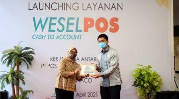 Tingkatkan Pelayanan Dana Pos Indonesia Luncurkan Weselpos Cash to Account Instamoney