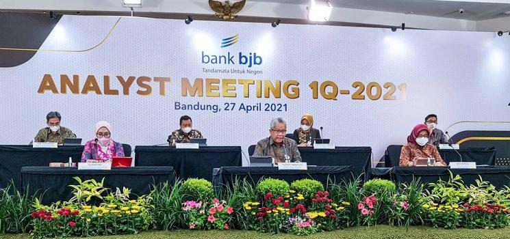 Triwulan I 2021 bank bjb Catatkan Kinerja Positif Laba Bersih Tumbuh 152